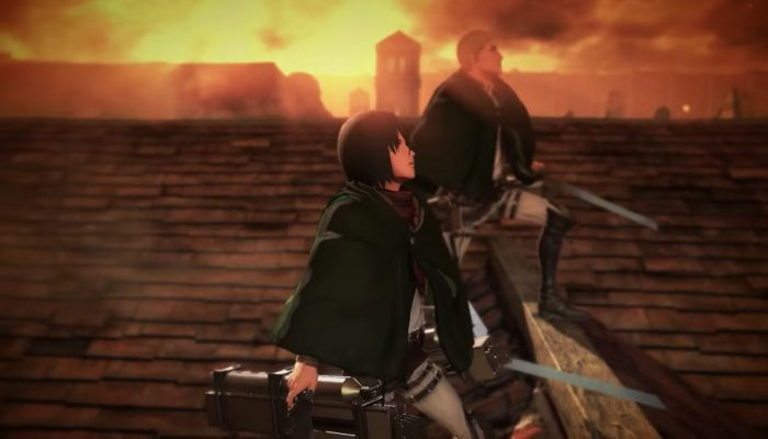 Attack on Titan 2 – Fourth Japanese Commercial