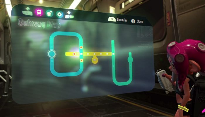 Splatoon 2 Octo Expansion Subway Map.Splatoon 2 23 Nintendobserver