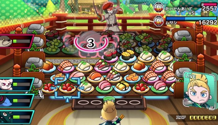 Sushi Striker: The Way of Sushido – Japanese Nintendo Direct Headline 2018.3.9