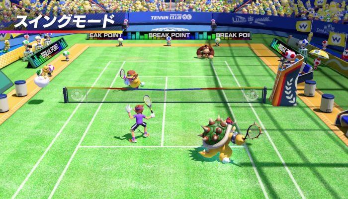 Mario Tennis Aces – Japanese Nintendo Direct Headline 2018.3.9