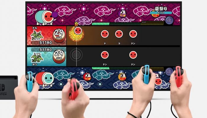 Taiko no Tatsujin: Nintendo Switch Version – Japanese Nintendo Direct Headline 2018.3.9