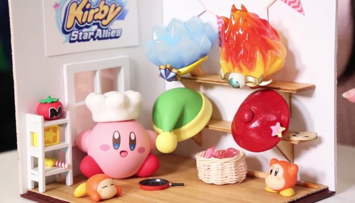 Nintendo Minute – Kirby Star Allies Inspired Diorama Creation with Captain Dangerous