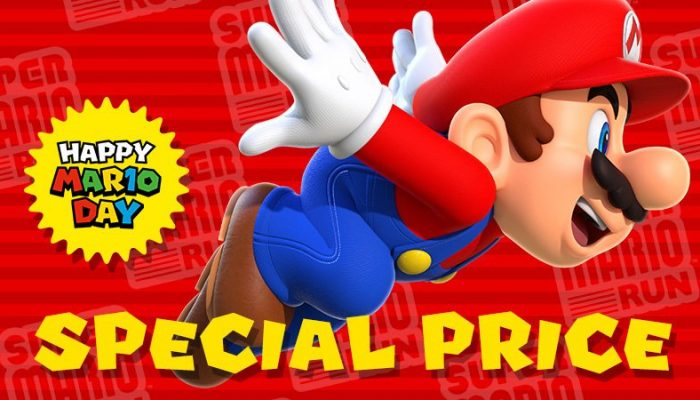 Super Mario Run now 50% off for MAR10 Day