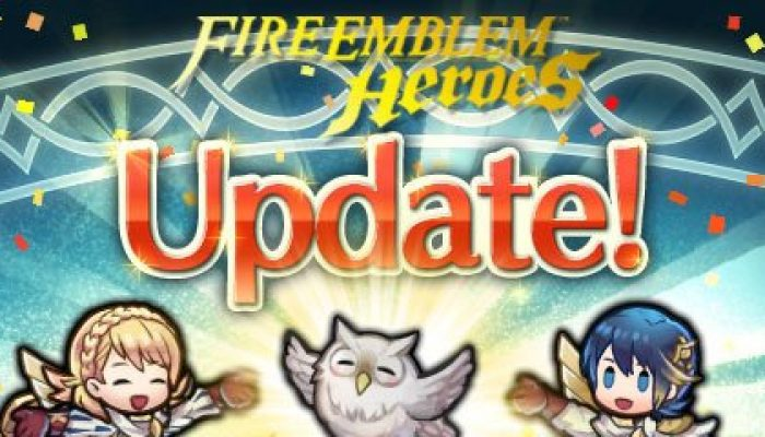 Fire Emblem Heroes updated to Version 2.3