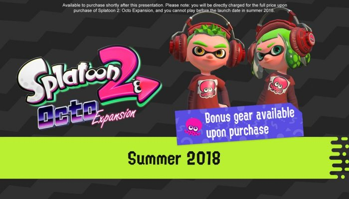 Splatoon 2 Octo Expansion available for pre-purchase