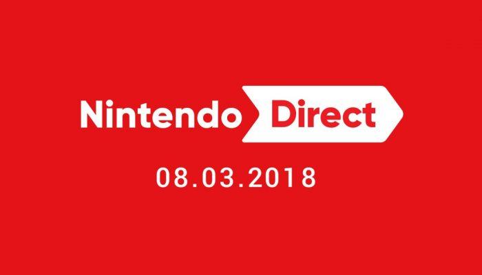 Nintendo France : 'Un nouveau Nintendo Direct sera diffusé jeudi à 23h'