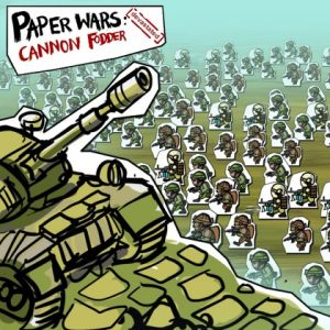 Nintendo eShop Downloads Europe Paper Wars Cannon Fodder Devastated