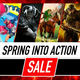 Nintendo eShop Downloads Europe Spring into Action Sale