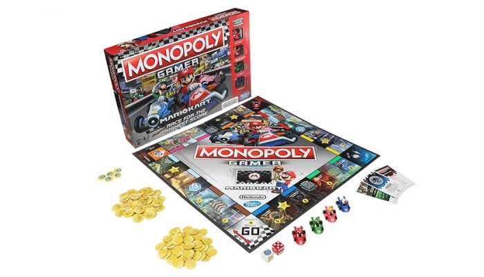 NoA: 'Hasbro and Nintendo join forces to add Mario Kart twist to Monopoly game'