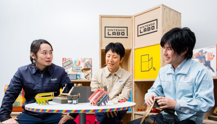 NoE: 'Nintendo Labo developer interview – Part 1: The Concept'