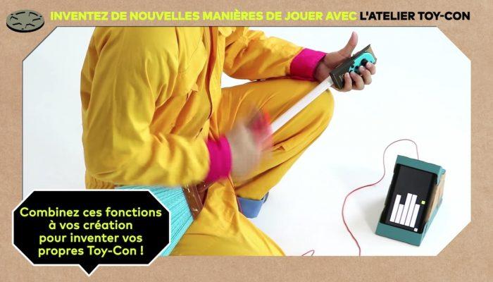 Nintendo Labo – Inventez de nouvelles manières de jouer avec l'Atelier Toy-Con (Épisode 1)