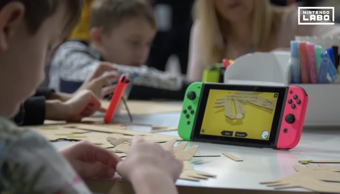 Nintendo Labo Workshop Experience