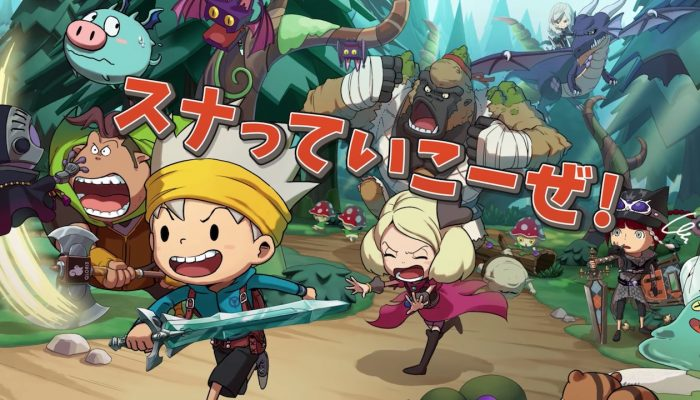 Snack World: Trejarers Gold – Japanese 90-Second TV Commercial