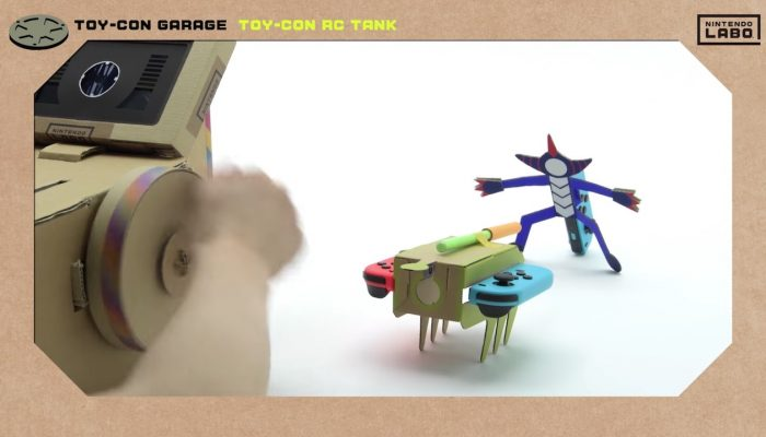 Nintendo Labo – Invent New Ways To Play With Toy-Con Garage (Part 2)