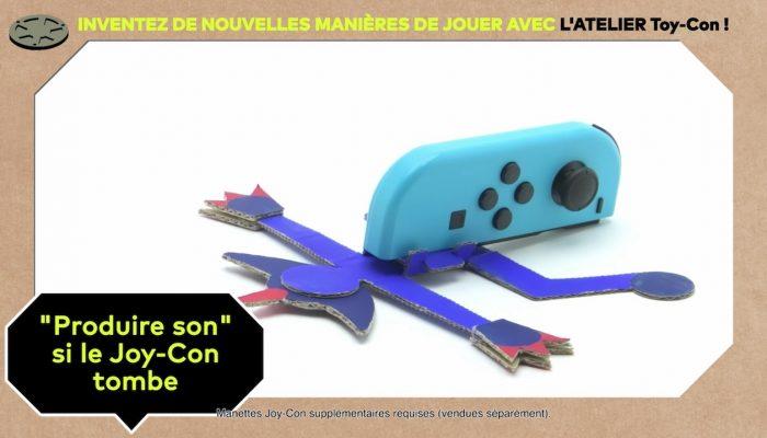 Nintendo Labo – Inventez de nouvelles manières de jouer avec l'Atelier Toy-Con (Épisode 2)