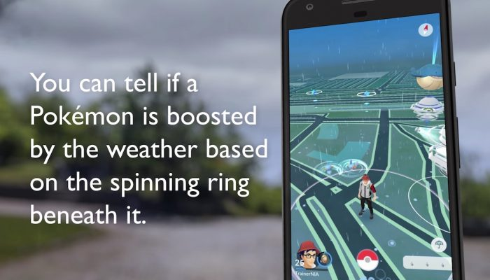 Pokémon Go – Dynamic Weather