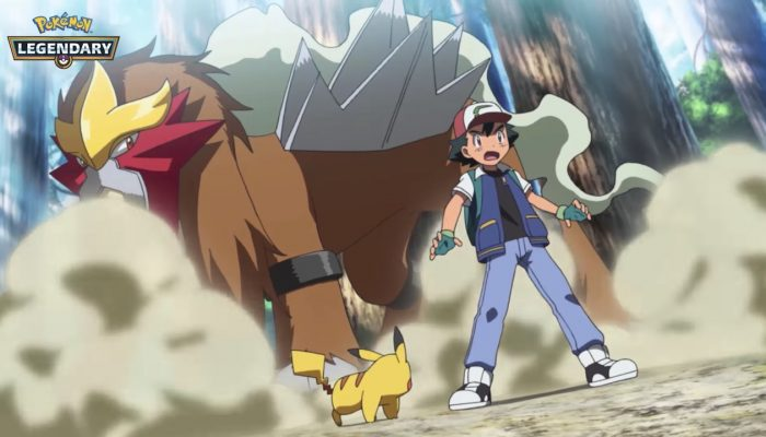 Pokémon – Entei and Raikou Join the 2018 Legendary Pokémon Celebration!