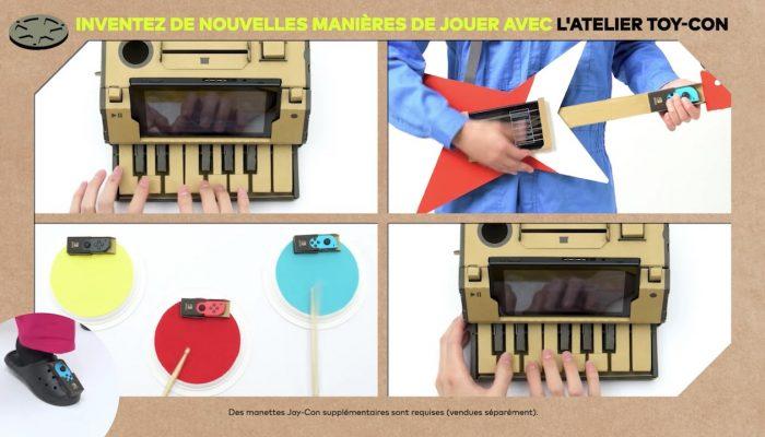 Nintendo Labo – Inventez de nouvelles manières de jouer avec l'Atelier Toy-Con (Épisode 3)
