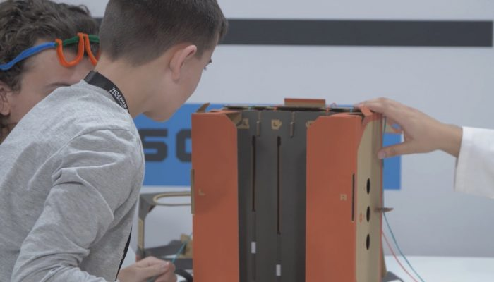 Nintendo Labo Workshop – Bringing Cardboard to Life