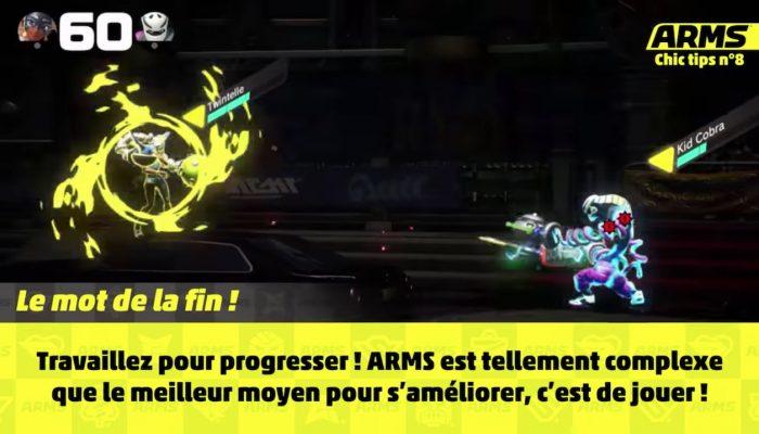 Arms – Chic Tips n°8 : 8 astuces pour parfaire son jeu