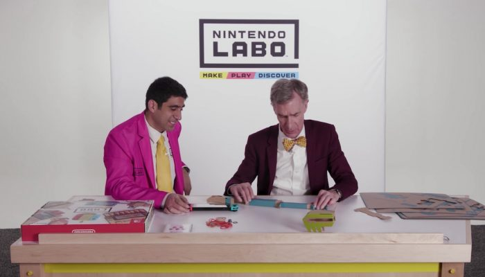 Nintendo Labo – Make, Play and Discover feat. Bill Nye
