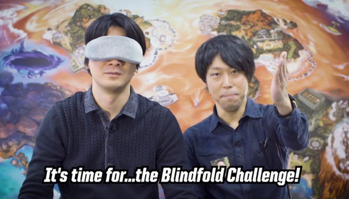 Pokémon Challenge: Game Freak takes on the Blindfold Challenge!