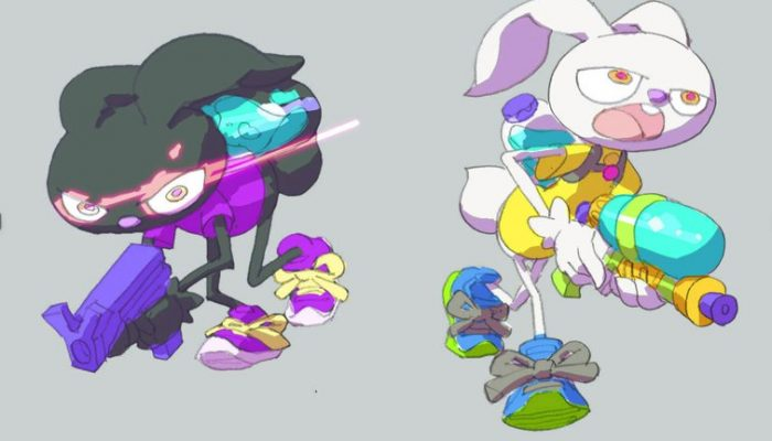Here is what Splatoon characters would look like as rabbits