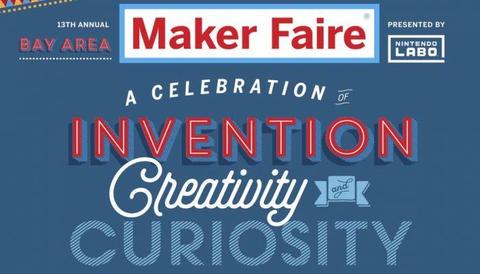 Nintendo Labo coming to Maker Faire Bay Area 2018