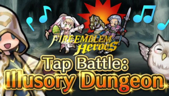 Tap Battle Illusory Dungeon Shadowed Memories in Fire Emblem Heroes