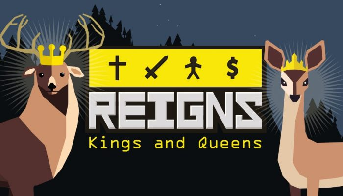Reigns Kings and Queens coming to Nintendo Switch