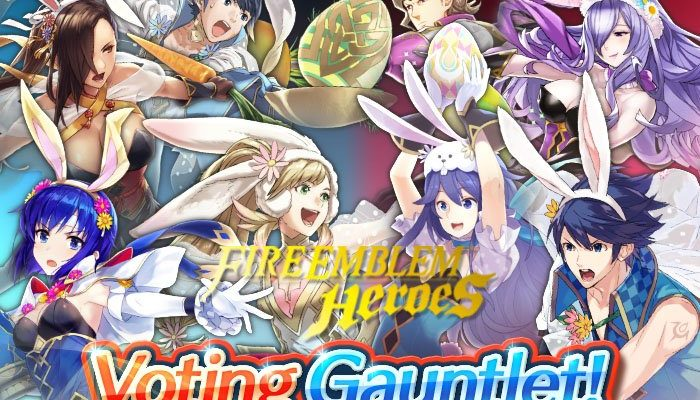 Bunny Battle Ballot Voting Gauntlet in Fire Emblem Heroes