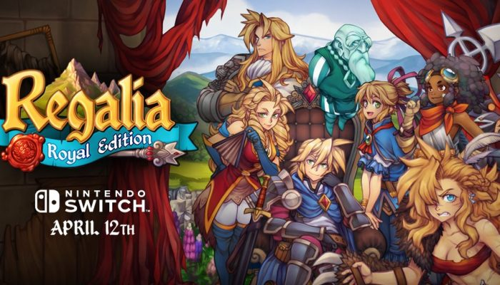 Regalia Of Men and Monarchs launching on Nintendo Switch