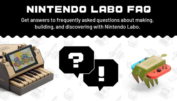 A FAQ is available for more details on Nintendo Labo