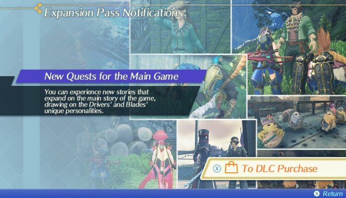 Xenoblade Chronicles 2 updated to version 1.3.1