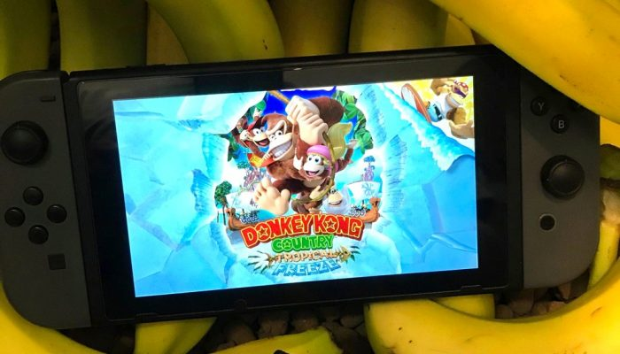Donkey Kong Country Tropical Freeze available for pre-purchase in Europe