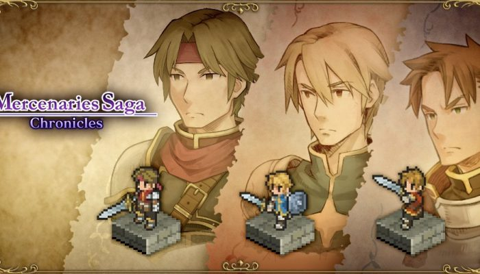 Mercenaries Saga Chronicles getting a physical release on Nintendo Switch