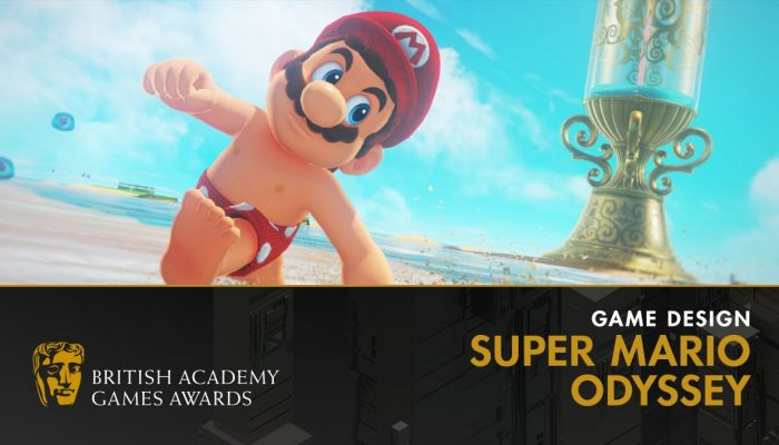 Super Mario Odyssey wins two BAFTA Awards