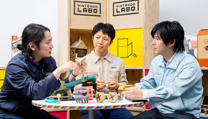 Nintendo Labo's developer interviews Parts 1 & 2 are available on NoA's official website
