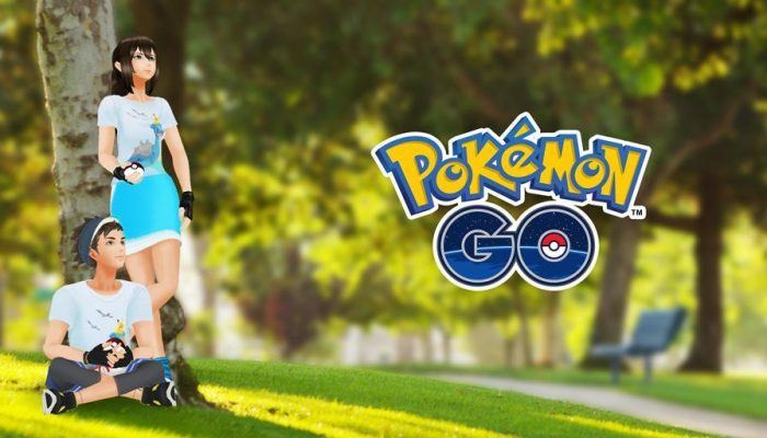 In-game Pokémon Go shirts celebrate Earth Day