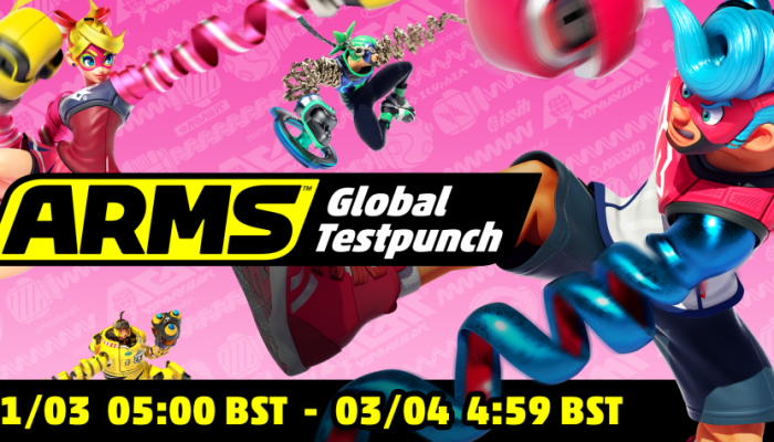 NoE: 'Get ready for the Arms Global Testpunch this weekend!'