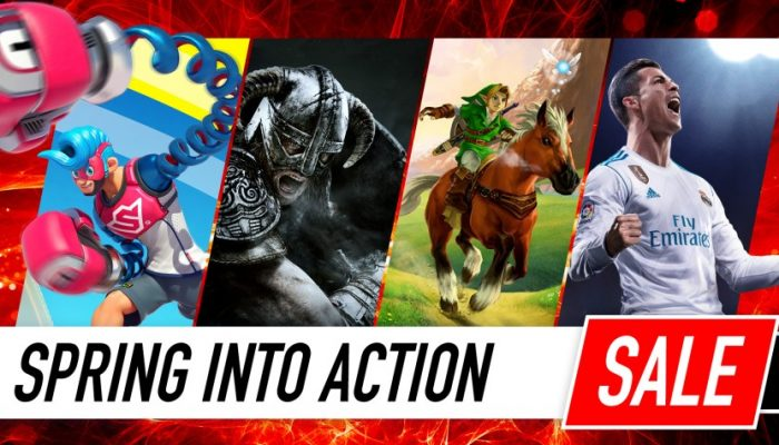 NoE: 'Nintendo eShop sale: Spring into Action Sale'