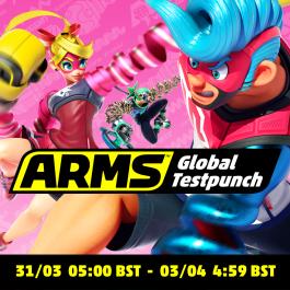 Nintendo eShop Downloads Europe Arms Global Testpunch