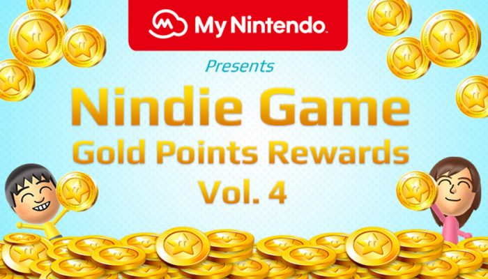 NoA: 'My Nintendo presents Nindie Game Gold Points Rewards Vol. 4'