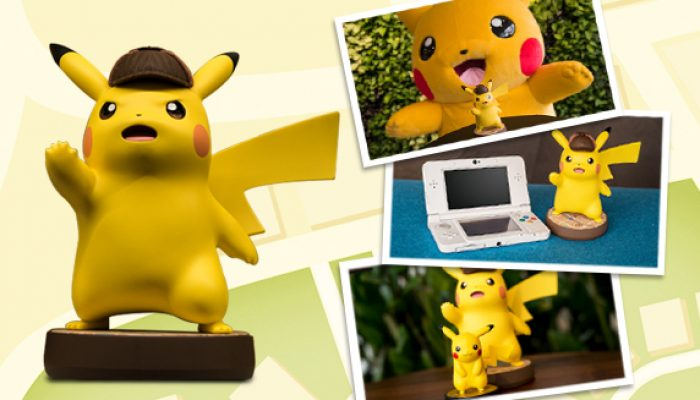 Pokémon: 'The Detective Pikachu amiibo Is HUGE!'