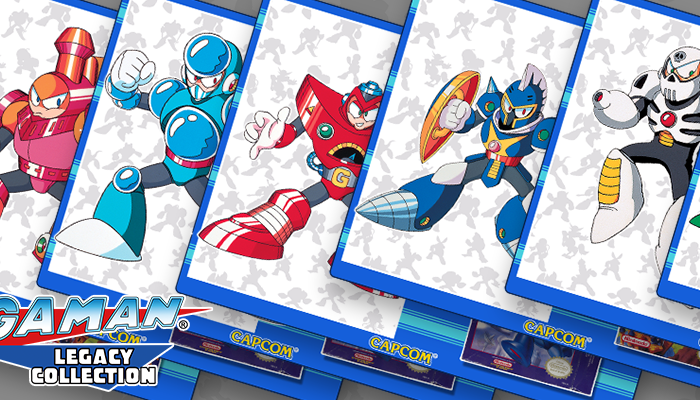Capcom: 'Mega Man Legacy Collection 1 + 2 – Robot Recap Vol. 2'