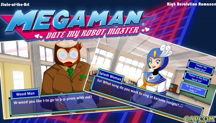 Capcom: 'Introducing Mega Man: Date My Robot Master'