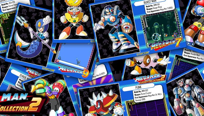 Capcom: 'Mega Man Legacy Collection 1 + 2 – Robot Recap Vol. 3'