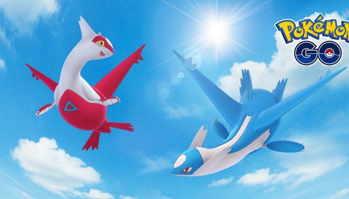 Niantic: 'Latias and Latios Fly into Regional Raid Battles!'