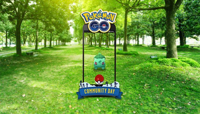 Pokémon: 'Bulbasaur Busts Out on Pokémon Go Community Day'