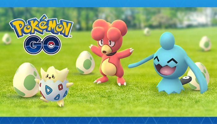 Pokémon: 'Pokémon Go Brings Egg-citement!'